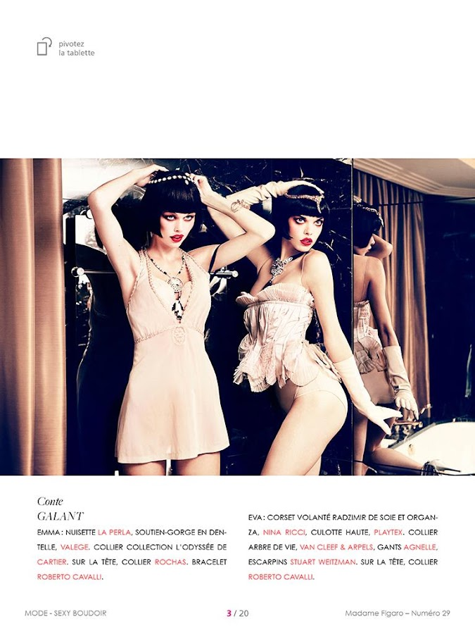 i-mad : Madame Figaro - screenshot