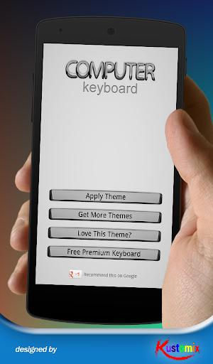 Computer Keyboard Theme