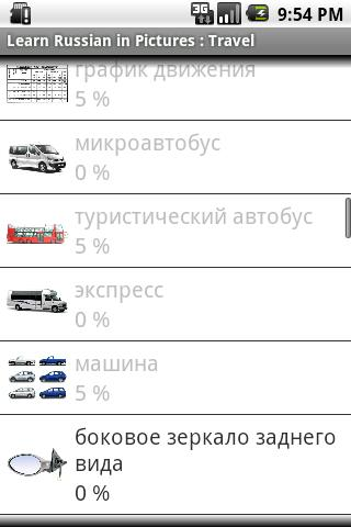 Russian in Pictures Trip Trial- screenshot
