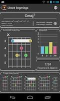 Screenshot of Chord! (Guitar Chord Finder)