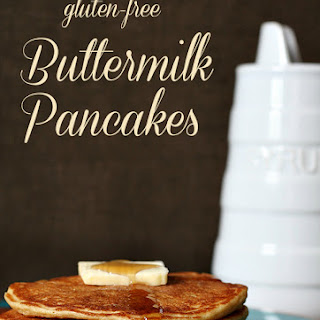 Buttermilk Pancakes {Gluten-Free} Recipe