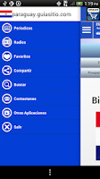 Screenshot of Paraguay Guide Radios and News