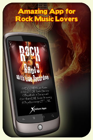 Rock Radio - With Recording