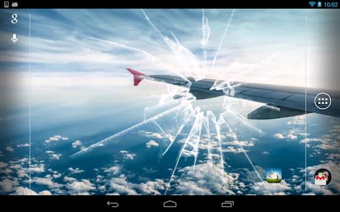 Galaxy S4 碎屏動態桌布