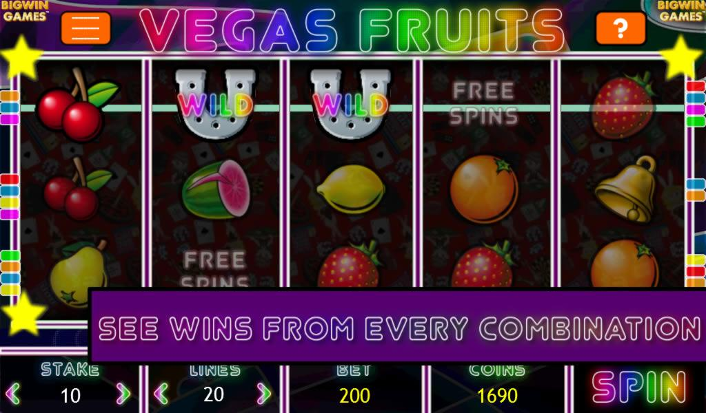 play free fruit slots machine