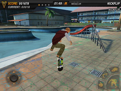 Mike V: Skateboard Party Lite- screenshot thumbnail