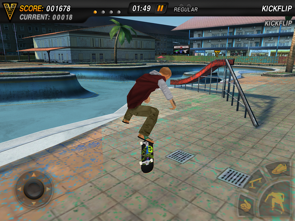 Mike V: Skateboard Party Lite- screenshot