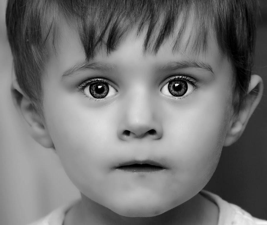Mommy I'm a model by Ami Hawker - Babies & Children Child Portraits ( sharp, beautiful, boy, portrait, eyes )