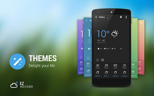 EZ Weather HD Beautiful Widget - screenshot thumbnail