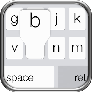 iPhone 5s Keyboard iOS 7 - screenshot thumbnail