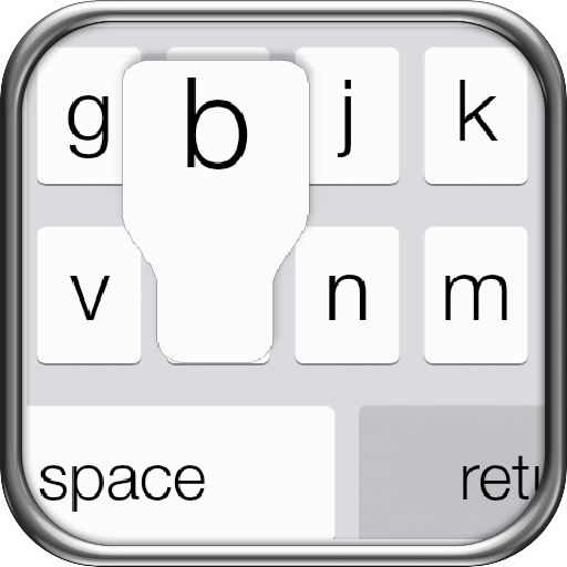 iPhone 5s Keyboard iOS 7 - screenshot