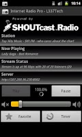 Screenshot of Internet Radio Pro - L337Tech