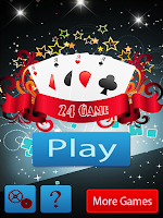 Screenshot of 24 Math Game