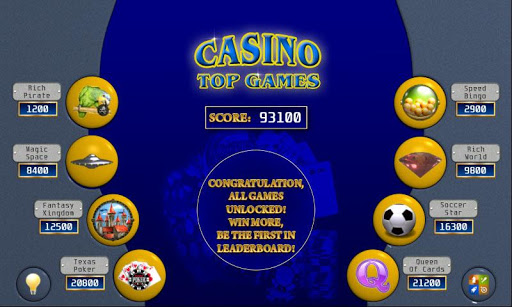 Casino Top Games for Samsung
