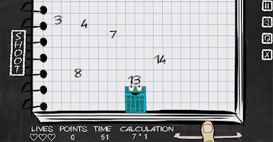 Screenshot of Game of Digits (DigitEater)