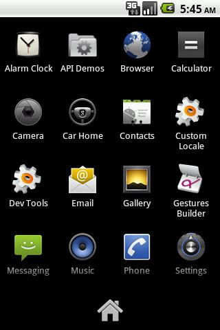 Launcher - screenshot
