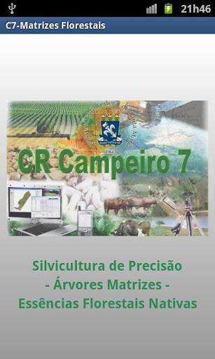 C7-Matrizes Florestais