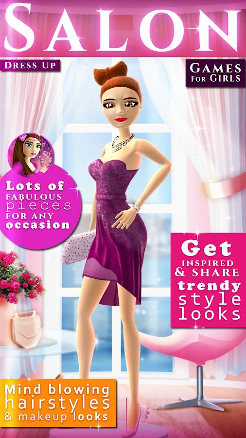 Dress Up Hair Salon Girl Games on the App Store