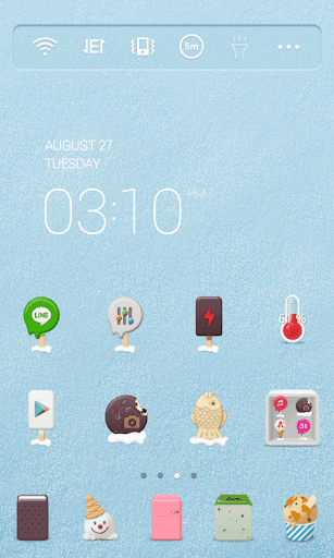 Ice Cream Dodol Theme