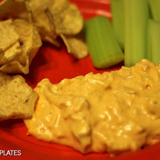 Slow Cooker Buffalo Chicken Dip.