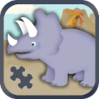 Kids Dinosaur Games: Puzzles icon