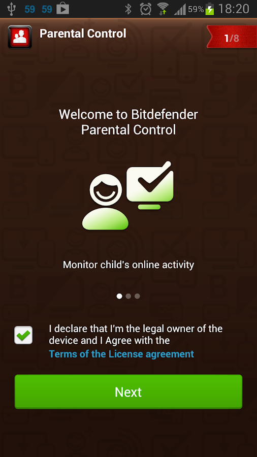 Bitdefender Parental Control - screenshot