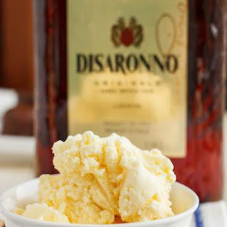 Amaretto Ice Cream.