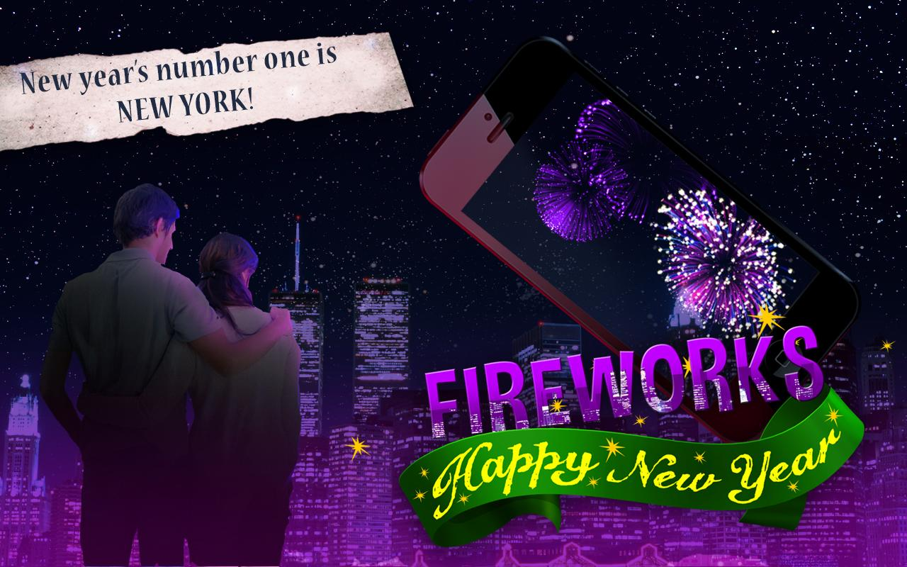 Happy New Year Fireworks - screenshot