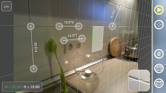 Partometer3D - camera measure- screenshot thumbnail