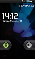 Screenshot of Live Wallpaper: ICS Boot