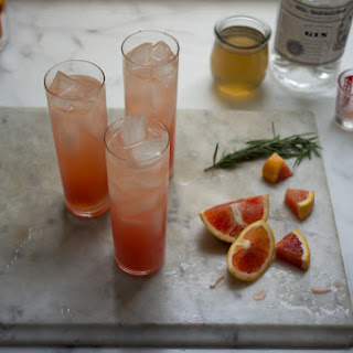 Blood Orange Gin Sparkler.