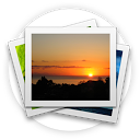 HD Gallery mobile app icon