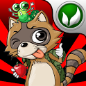 Daring Raccoon HD icon