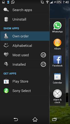 Theme - SKY - screenshot