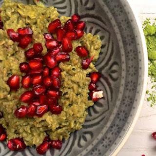Superfood Matcha Porridge [Vegan, Gluten-Free]