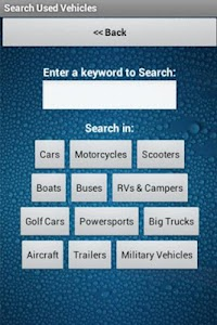 Used Vehicles for Sale Finder screenshot 1
