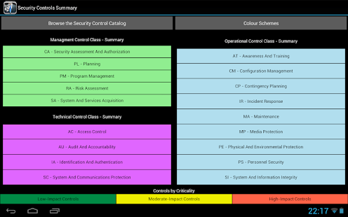 NIST Security Controls- screenshot thumbnail