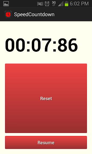 Speed Countdown