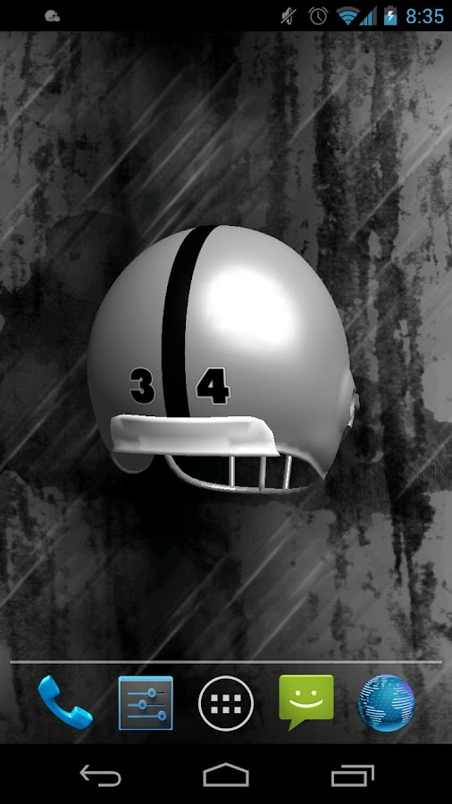 Helmet Live Wallpaper - screenshot