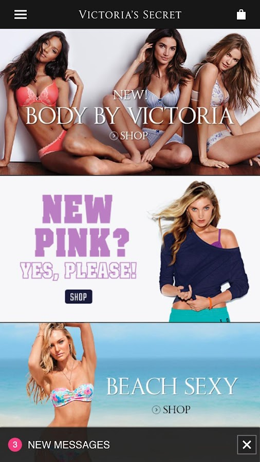 Victoria's Secret for Android™- screenshot