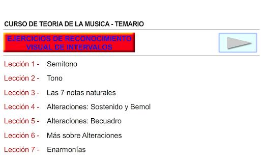 CURSO DE TEORIA DE LA MUSICA - náhled