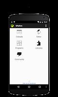 Screenshot of QPython - Python for Android