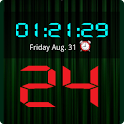 LED Digital Clock Widget logo