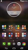 Screenshot of MotoWeather Zooper Skin