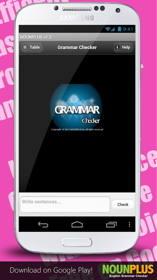 English Grammar Spell Checker- screenshot
