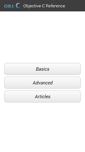 Objective-C Reference