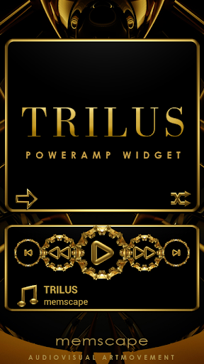Poweramp Widget TRILUS