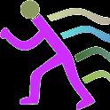 Automatic run stopwatch logo