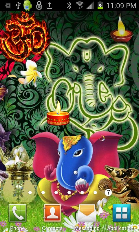 Shri GANESHA HQ Live Wallpaper- screenshot