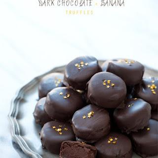 Dark Chocolate and Banana Truffles
